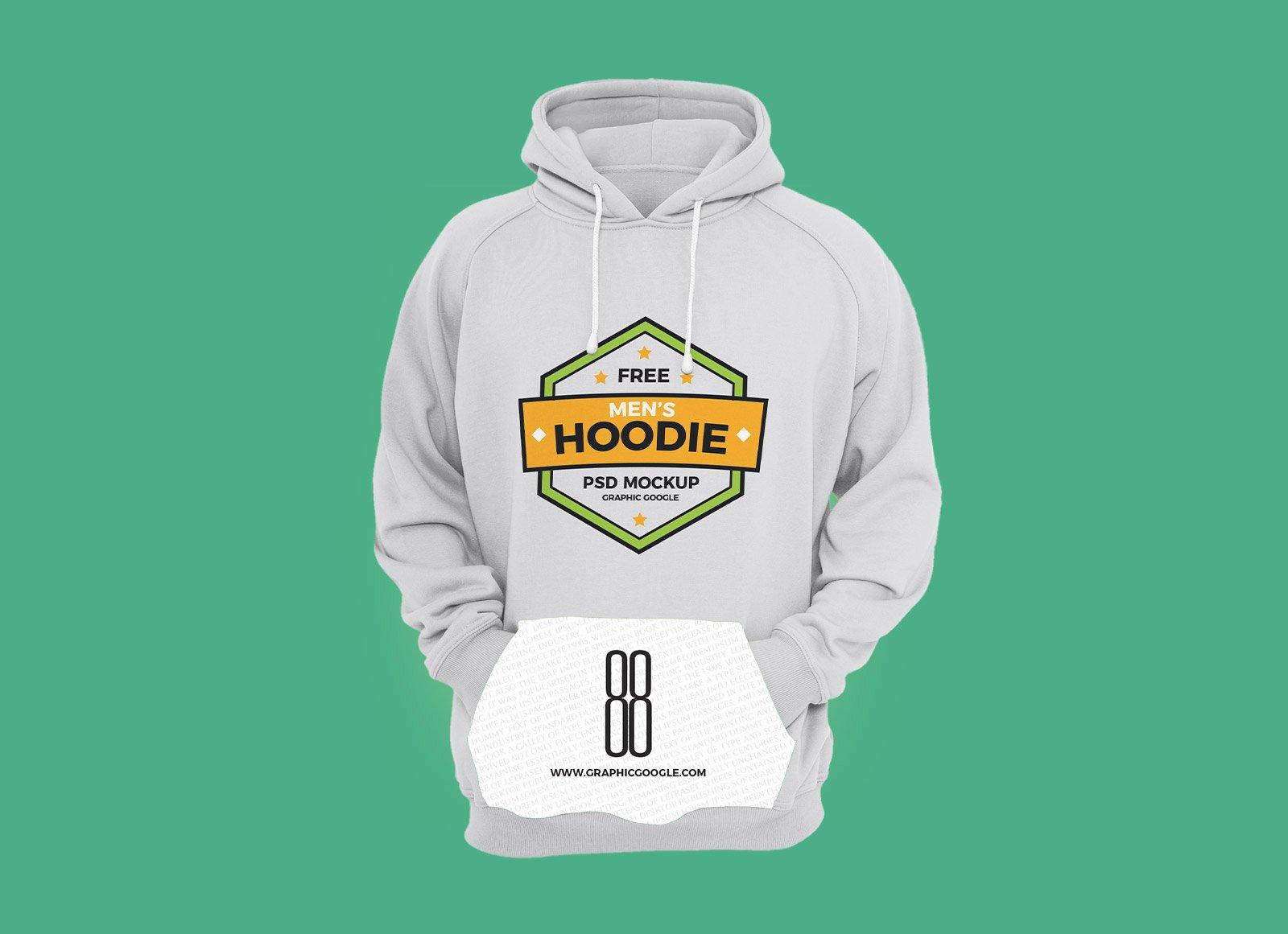 Free Hoodie Mockup Psd New Free Men S Hoo T Shirt Mockup Psd File Good Mockups