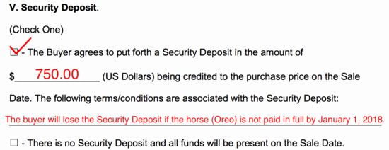 Free Horse Bill Of Sale Luxury Free Horse Bill Of Sale form Word Pdf