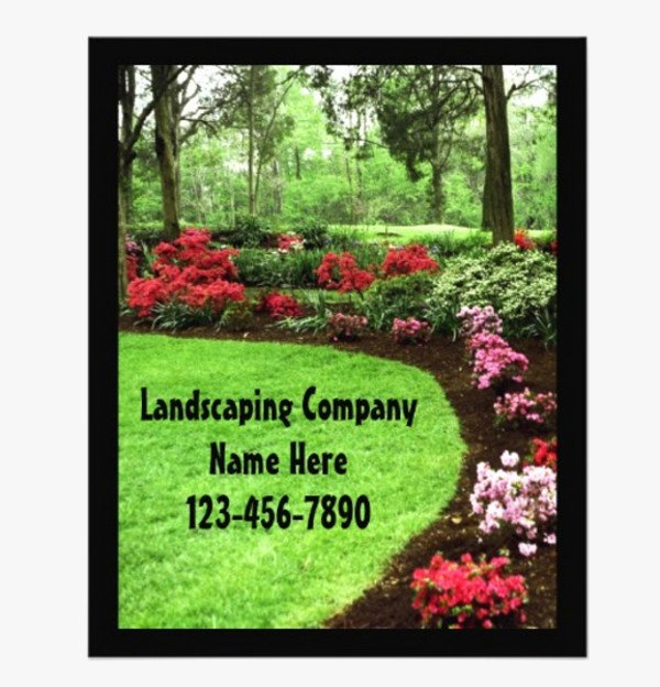 Free Landscaping Flyer Templates Fresh 20 Lawn Care Flyers Psd Vector Eps Jpg Download