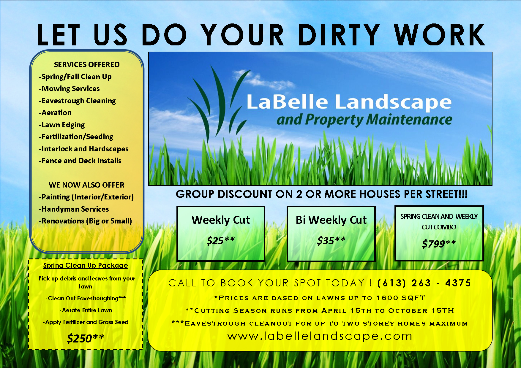 Free Landscaping Flyer Templates Fresh Lawn Care Flyer Free Template Flyer Templates Pinterest