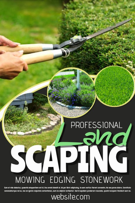 Free Landscaping Flyer Templates Lovely Landscaping Template