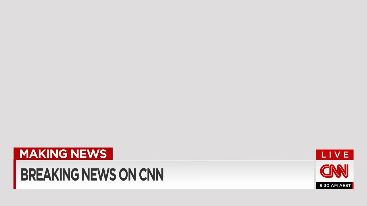 Free Lower Third Templates Photoshop Beautiful Mock Cnn Lower Third Super