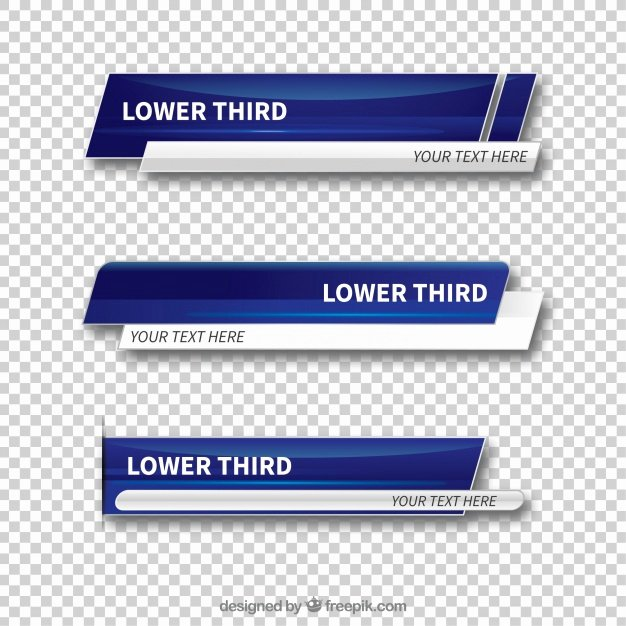 Free Lower Third Templates Photoshop Luxury Lower Third Vectors S and Psd Files