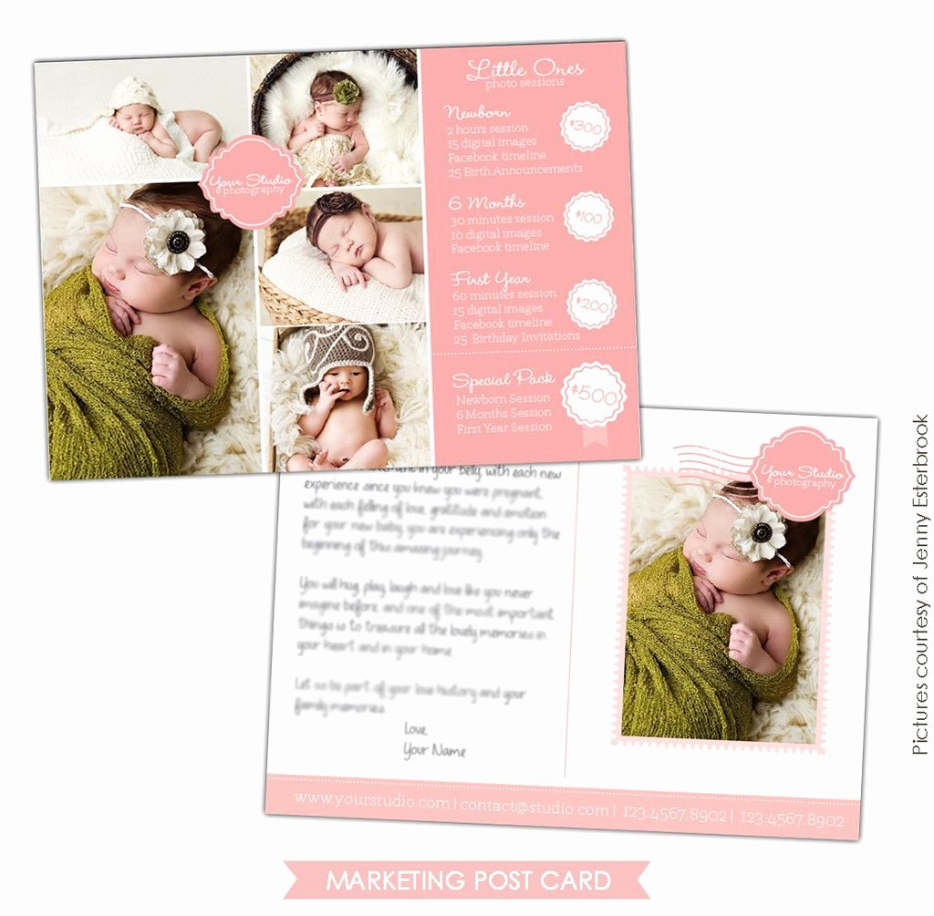 Free Marketing Templates for Photographers Fresh Graphy Marketing Postcard Little Es