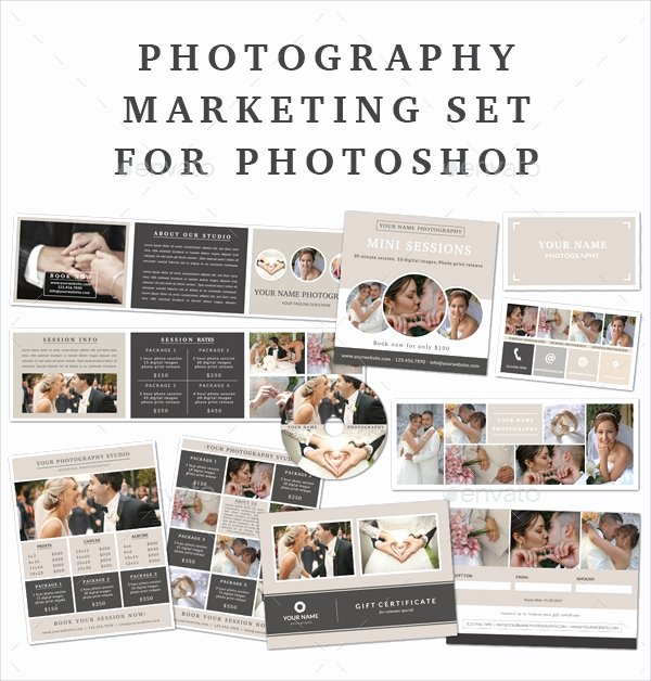Free Marketing Templates for Photographers Inspirational 10 Graphy Marketing Templates Free Sample Example format