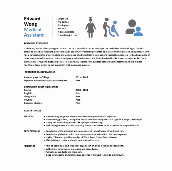 Free Medical assistant Resume Templates New 24 Best Medical assistant Sample Resume Templates Wisestep