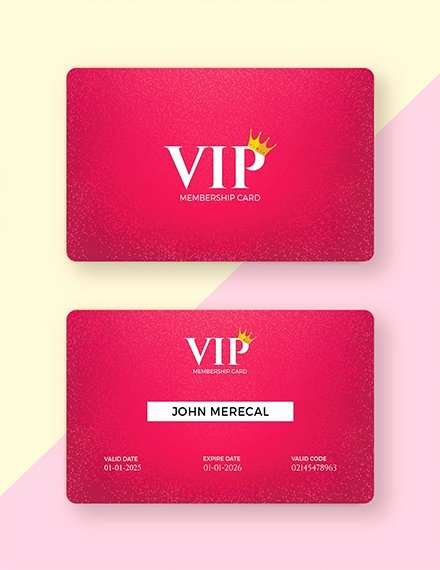 Free Membership Card Template Elegant 10 Membership Card Templates