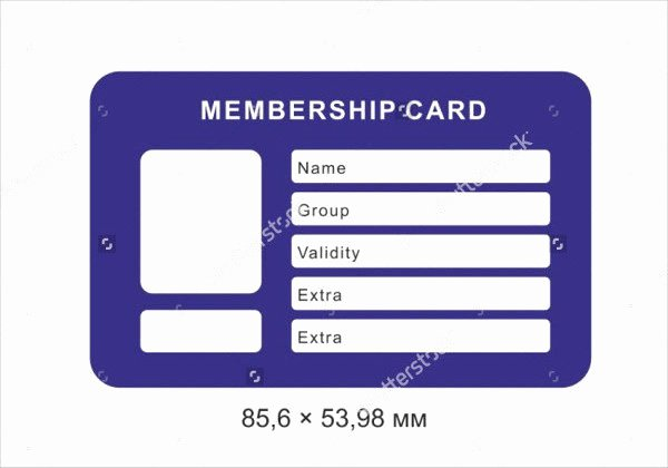 Free Membership Card Template Inspirational 29 Customizable Id Card Templates Free & Premium Download