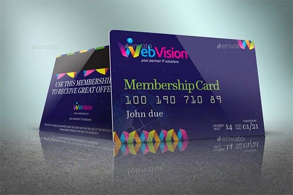 Free Membership Card Template Luxury Membership Card Template 31 Free Printable Word Pdf Psd Eps format Download
