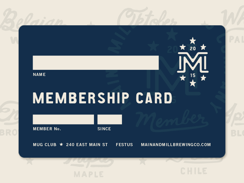 Free Membership Card Template Unique Mmbc Membership Card Membership