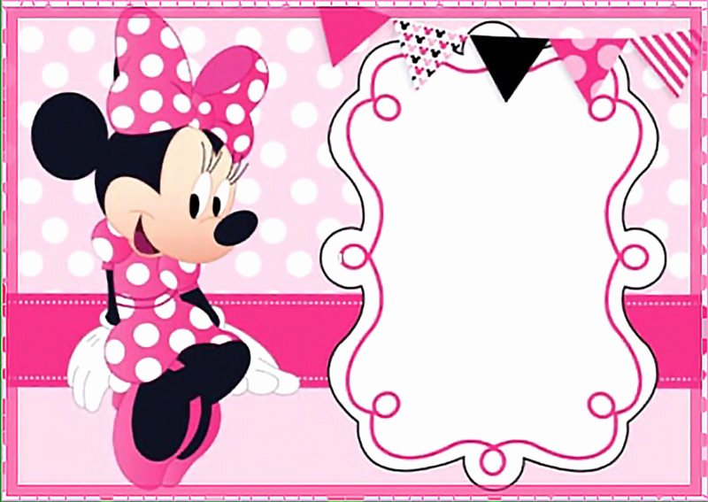 Free Minnie Mouse Invitations New the Largest Collection Of Free Minnie Mouse Invitation