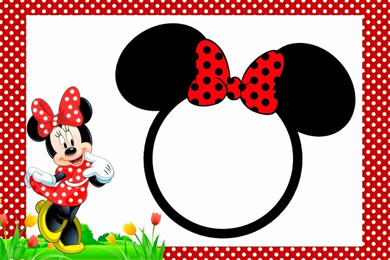 Free Minnie Mouse Invitations Unique Minnie Mouse Free Printable Invitation Templates