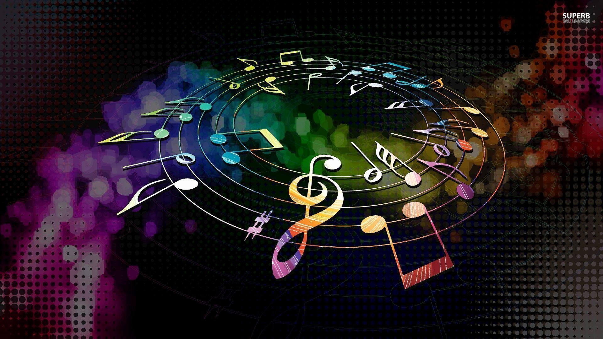 Free Music Background Images Awesome Music Note Wallpapers Wallpaper Cave