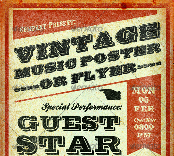 Free Music Poster Templates Unique 25 Best Free & Premium Music Poster Templates Designmaz