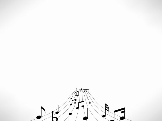 Free Music Powerpoint Templates Elegant Music Notes Powerpoint Template Allows You to Prepare Your Aesthetic Presentations This Ppt