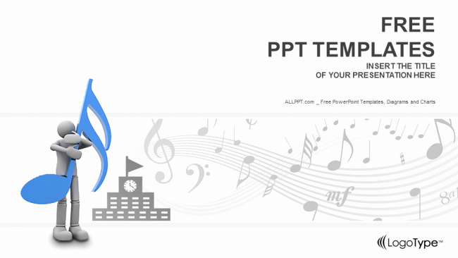 Free Music Powerpoint Templates Inspirational Music Schools Education Powerpoint Templates