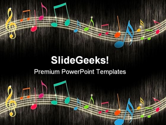 Free Music Powerpoint Templates Lovely Music Notes Background Entertainment Powerpoint Templates and Powerpoint Backgrounds 0411