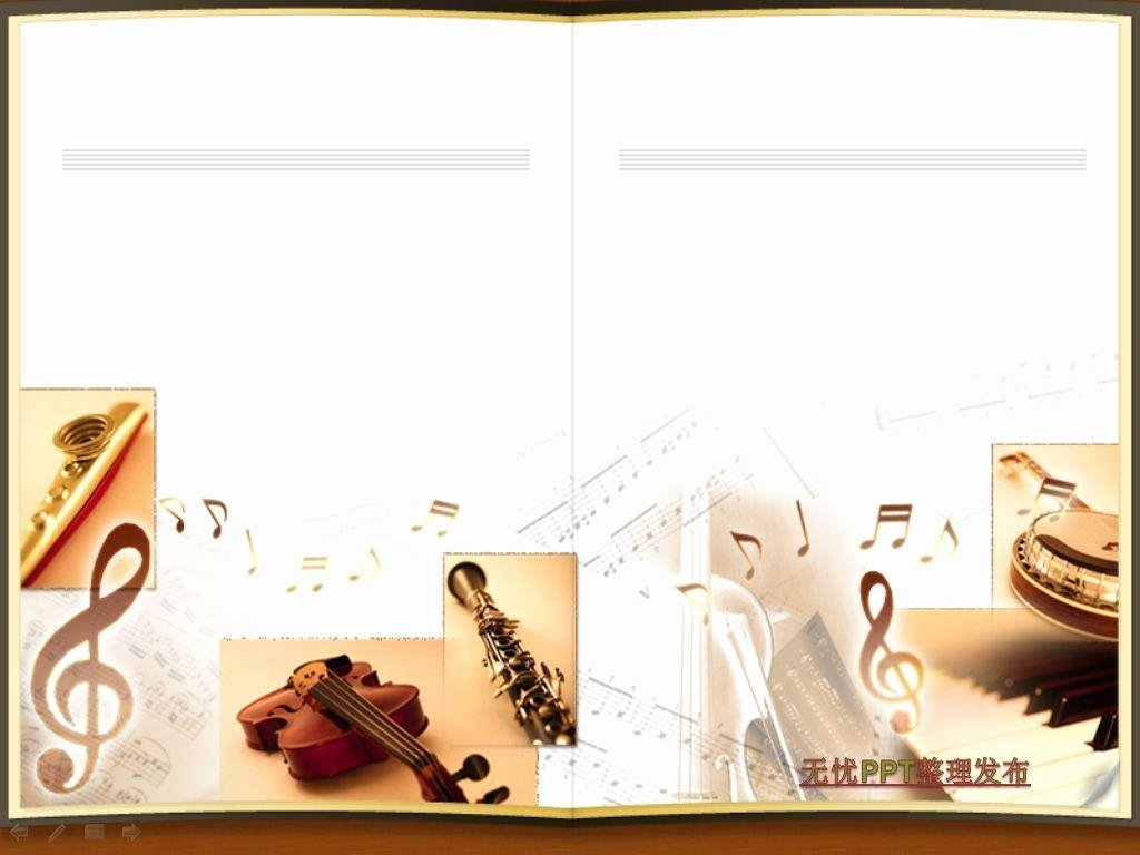 Free Music Powerpoint Templates Luxury Musical Instrument Backgrounds Wallpaper Cave