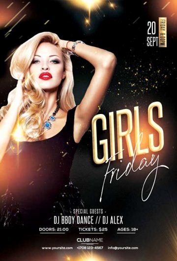 Free Nightclub Flyer Templates Best Of Download Free Psd Flyer for Party and Clubs