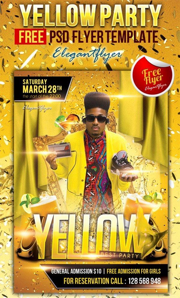Free Nightclub Flyer Templates Fresh 31 Free Party & Club Flyer Templates