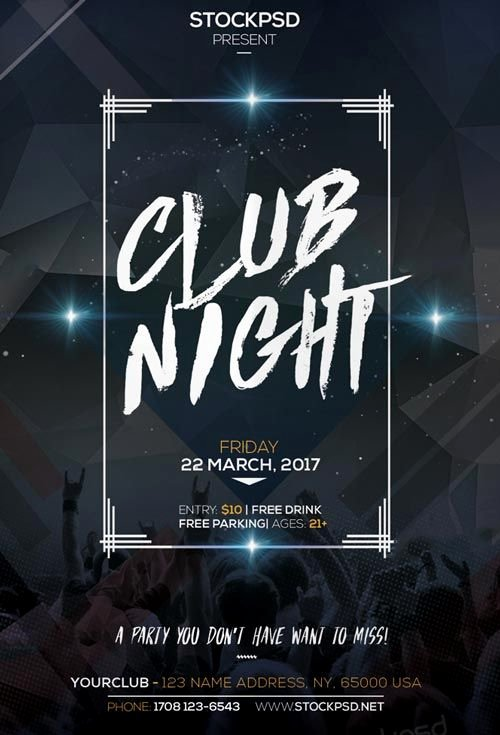 Free Nightclub Flyer Templates Luxury 1000 Images About Free Psd Flyer Templates On Pinterest