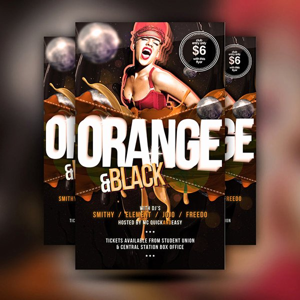 Free Nightclub Flyer Templates New Free Psd Poster Templates for 2015 Festive Season