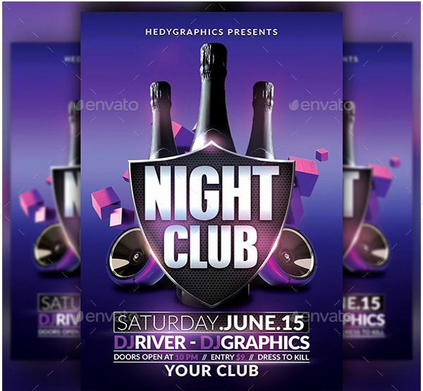 Free Nightclub Flyer Templates Unique 28 Club Flyer Templates Pdf Psd Ai Vector Eps