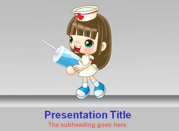 Free Nursing Powerpoint Templates Beautiful Medical Powerpoint Template Powerpoint Templates