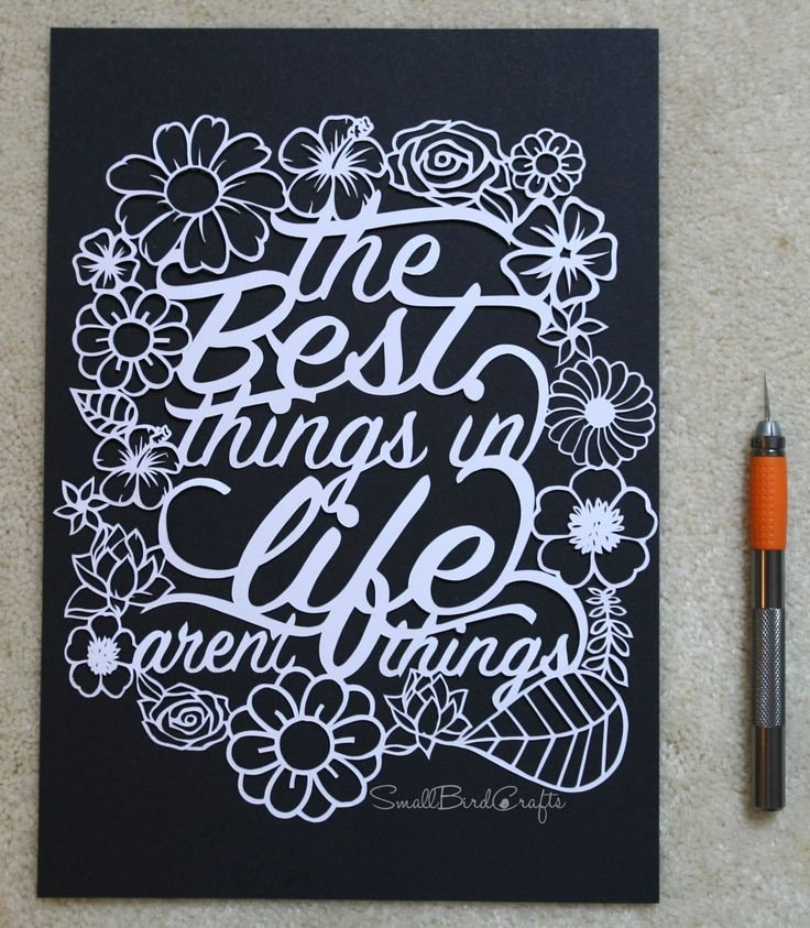 Free Paper Cutting Templates Fresh Paper Cutting Template the Best Things In Life by Smallbirdcrafts Diy