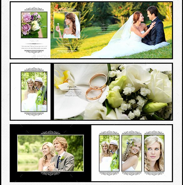 Free Photo Album Template Elegant 45 Wedding Album Design Templates Psd Ai Indesign