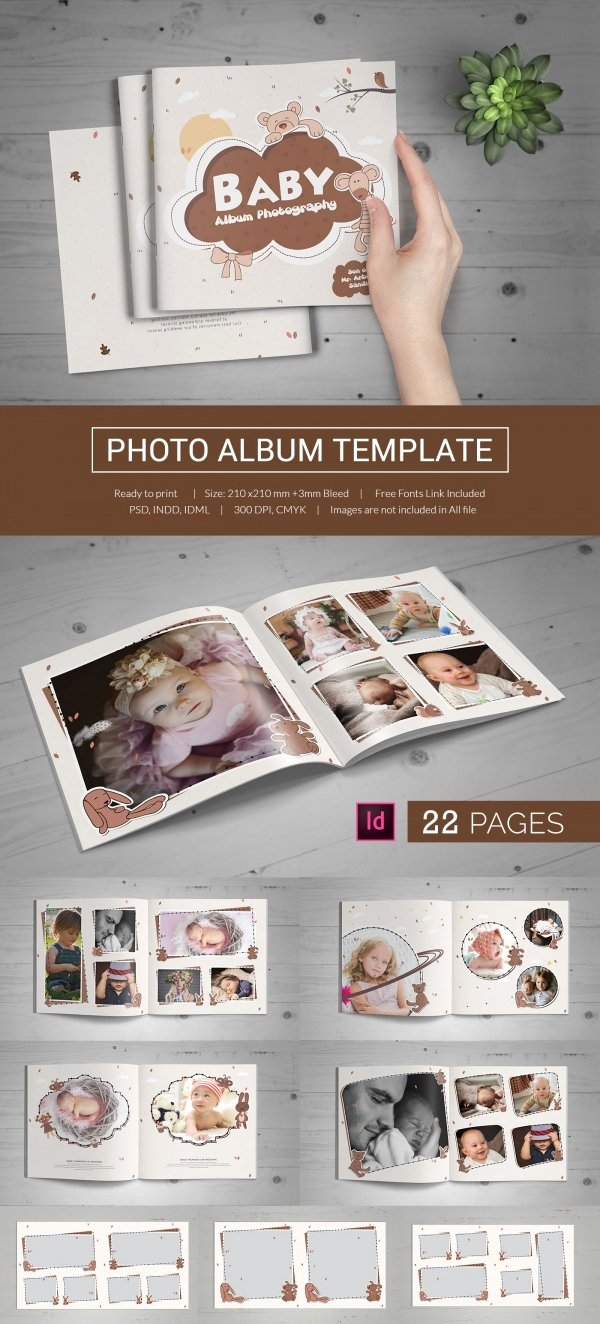 Free Photo Album Template Inspirational 79 Best Album Templates