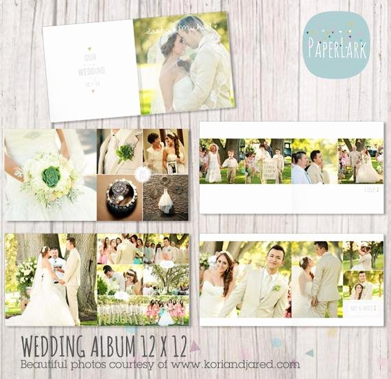 Free Photo Album Template Unique Wedding Album Template 12 X 12 and 10x10 Inch by Paperlarkdesigns