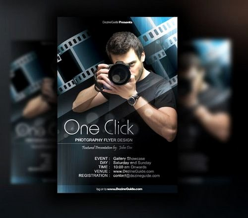 Free Photography Flyer Templates Awesome Download 30 Free Poster Flyer Templates In Psd