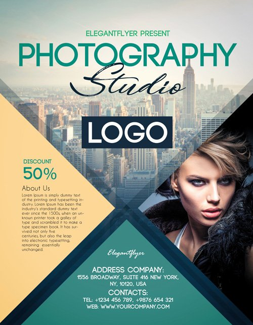 Free Photography Flyer Templates Beautiful Graphy Studio Free Psd Flyer Template for Creative Studios