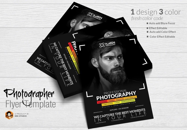 Free Photography Flyer Templates Elegant Grapher Flyer Flyer Templates Creative Market