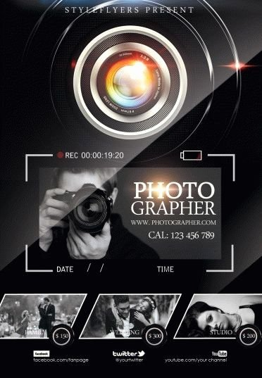 Free Photography Flyer Templates Fresh Grapher Psd Flyer Template 6004 Styleflyers