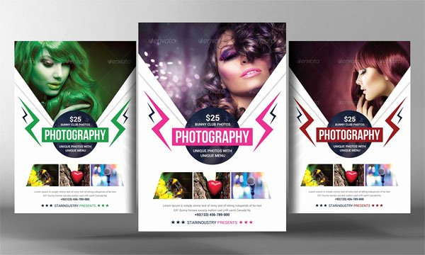 Free Photography Flyer Templates Inspirational 20 Fashion Graphy Flyer