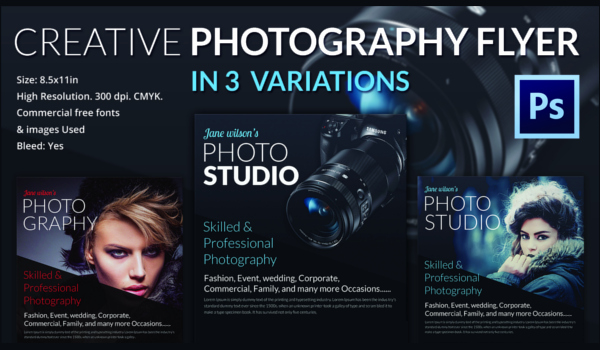 Free Photography Flyer Templates Inspirational 31 Graphy Flyer Templates Psd Word Publisher format Download