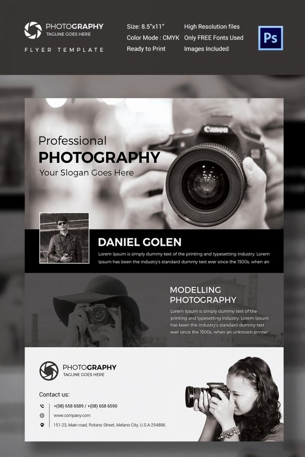 Free Photography Flyer Templates Unique Graphy Flyer Template 41 Free Psd format Download