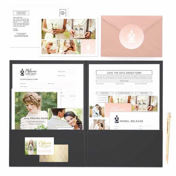 Free Photography Marketing Templates Awesome Wedding Client Wel E Packet