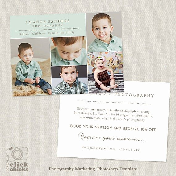 Free Photography Marketing Templates Elegant Promo Card Graphy Marketing Template Flyer Postcard