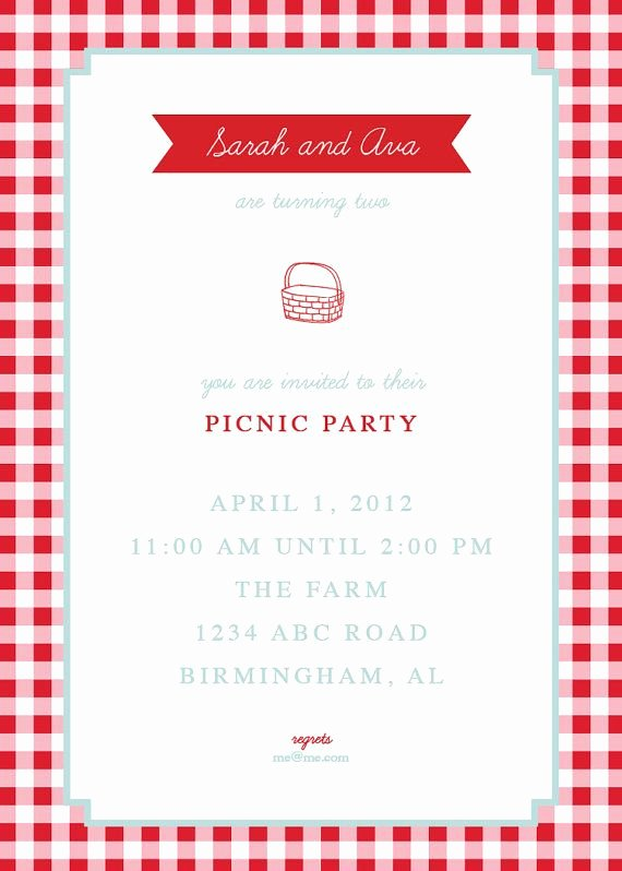 Free Picnic Invitation Template Beautiful Picnic Invite by thepinwheelpress On Etsy $15 00 Paper Pinterest