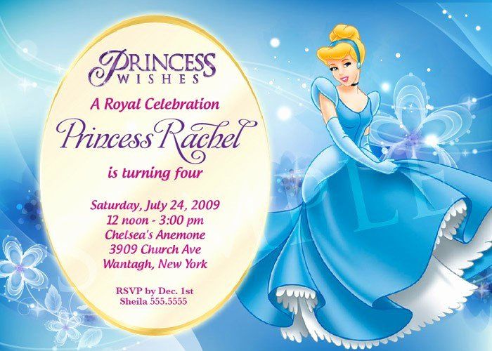 Free Princess Invitation Template Awesome Princess Birthday Invitation Template by Charisdesignstudio