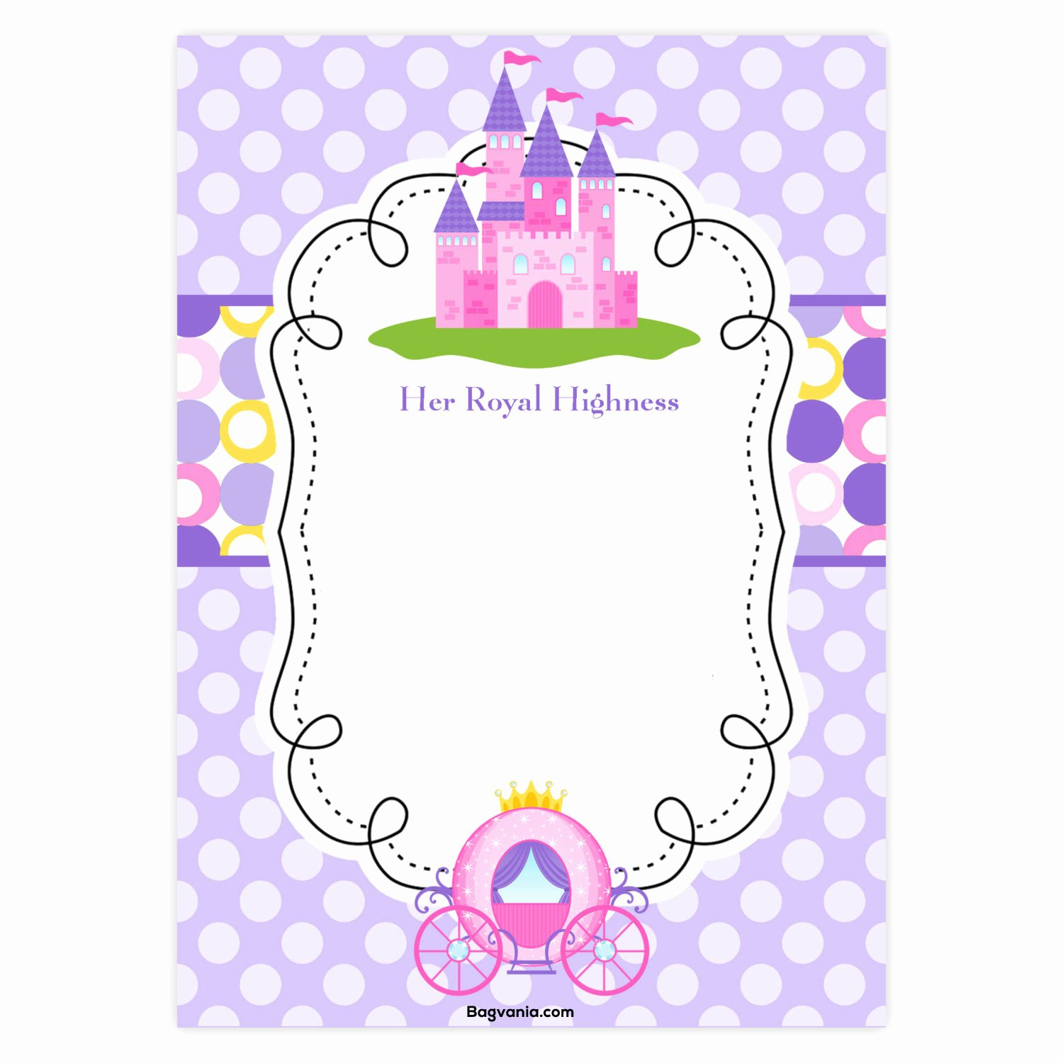 Free Princess Invitation Template Best Of Free Princess Birthday Invitations – Free Printable Birthday Invitation Templates – Bagvania
