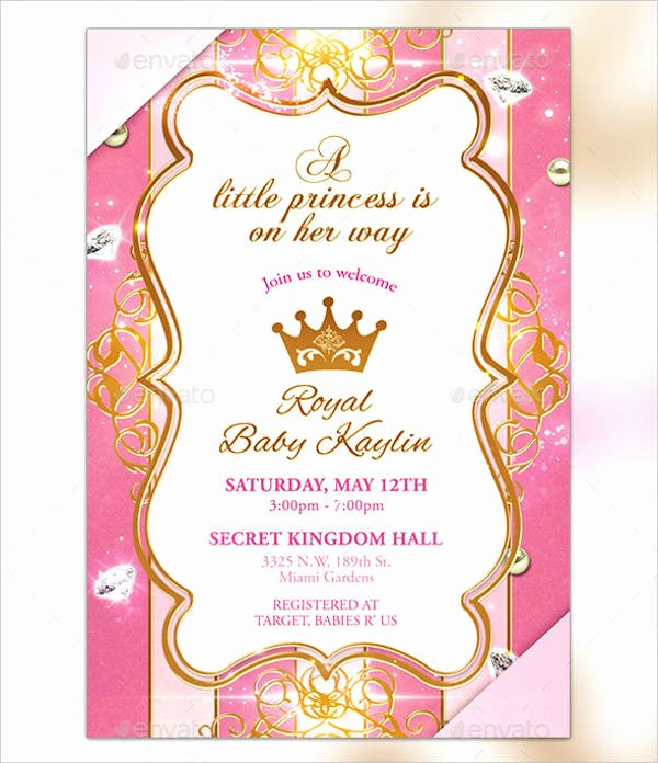 Free Princess Invitation Template Inspirational Princess Invitations Templates