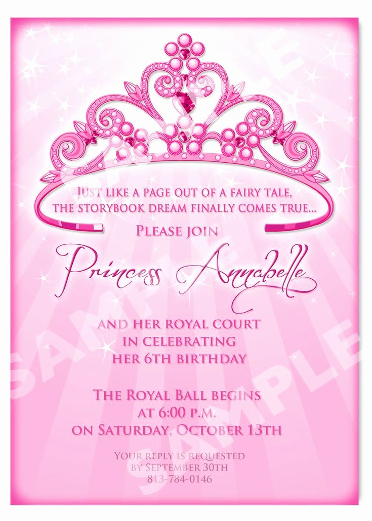 Free Princess Invitation Template Unique Free Printable Princess Birthday Invitation Templates Kids Pinterest