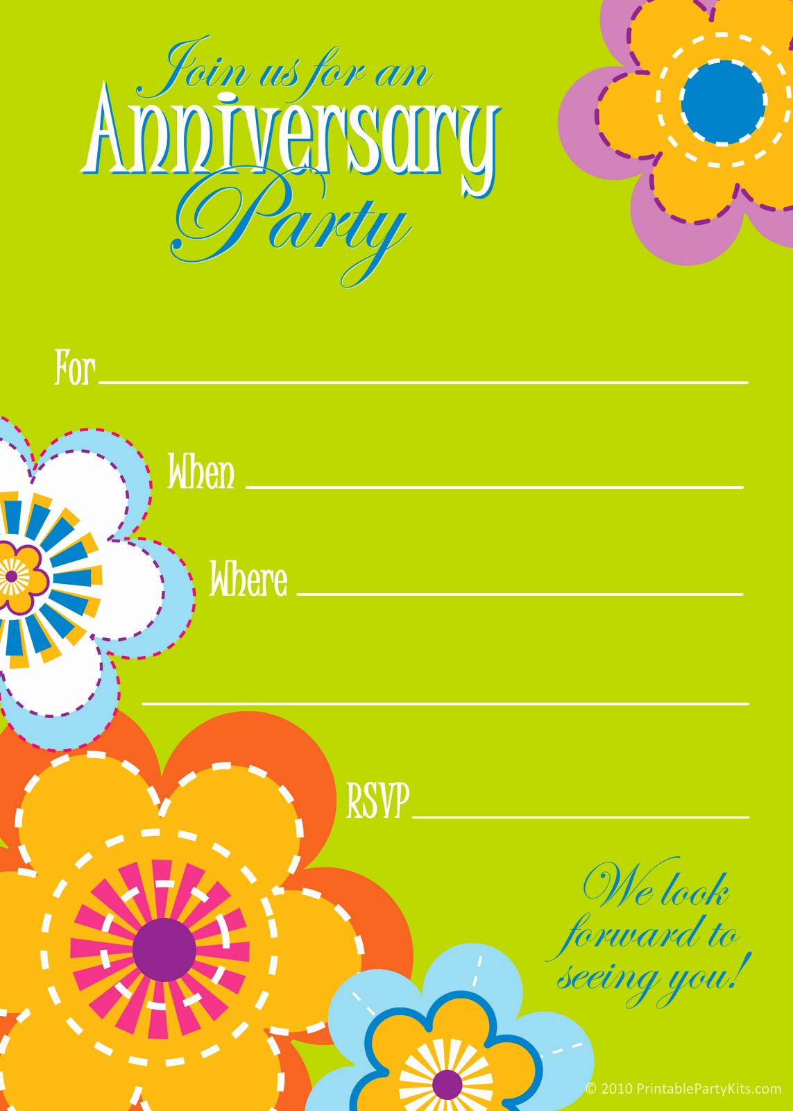 Free Printable Anniversary Invitations Beautiful Wedding Anniversary Invitation Template Free