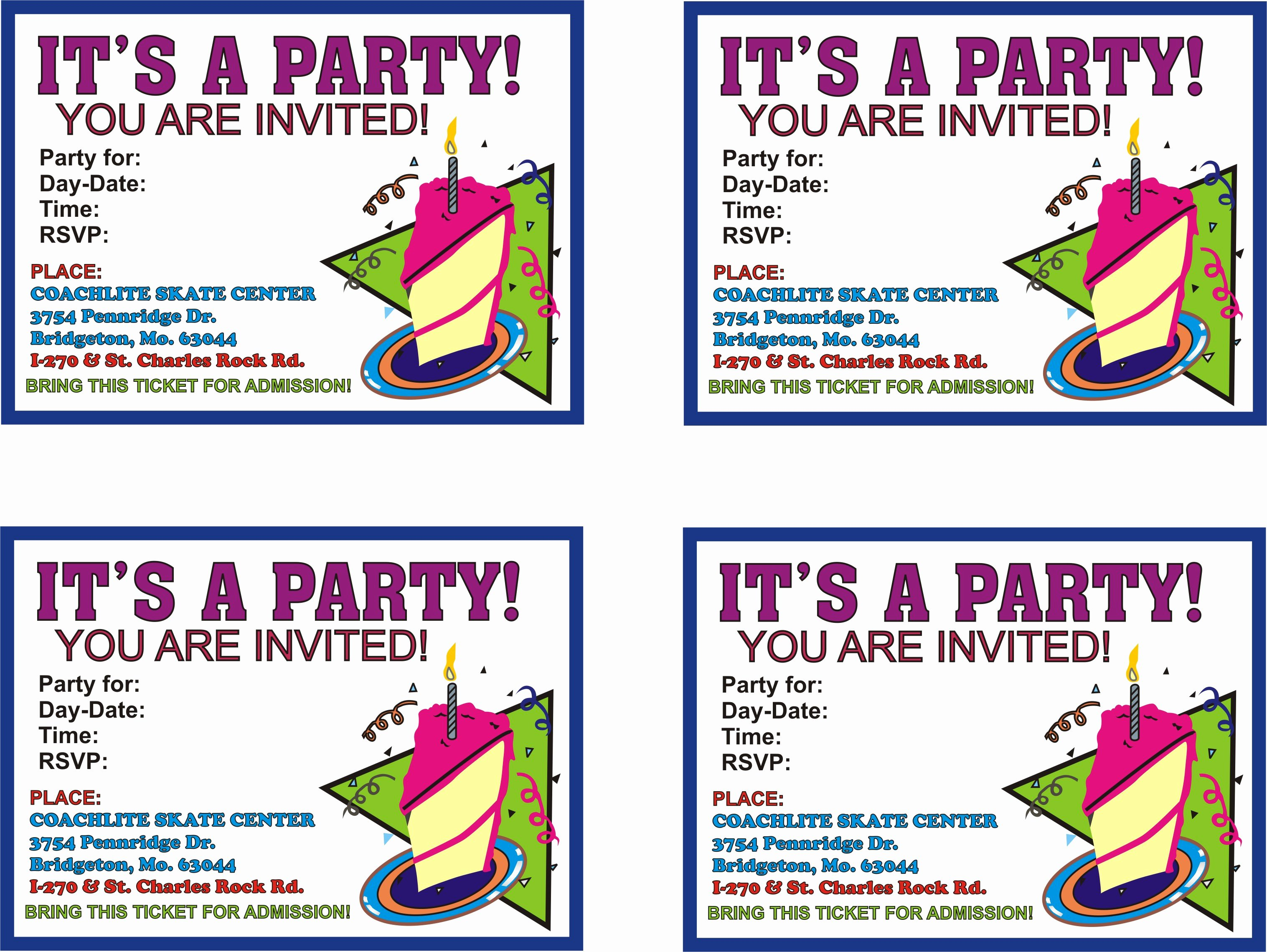 Free Printable Anniversary Invitations Lovely Birthday Parties