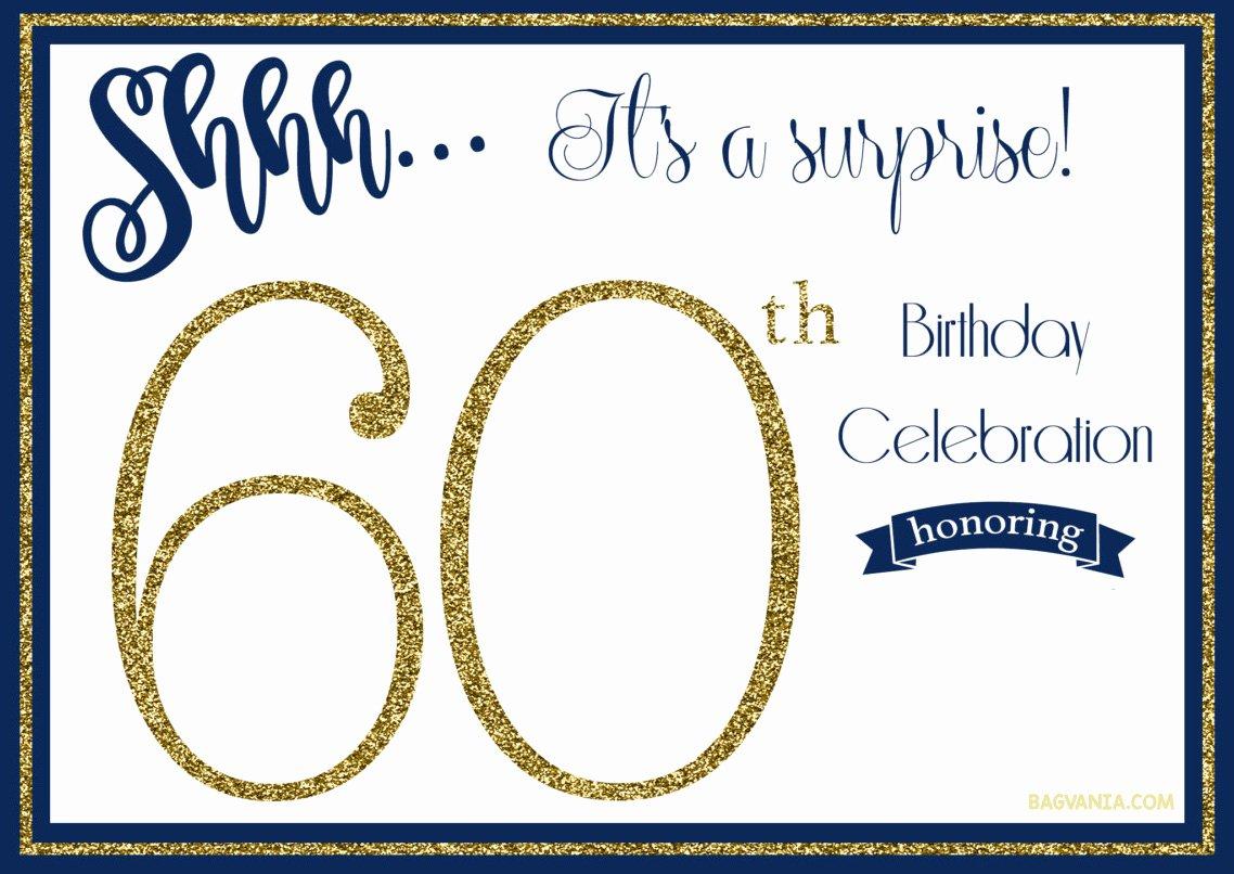Free Printable Anniversary Invitations Luxury Free Printable 60th Birthday Invitations Free Invitation Templates Drevio