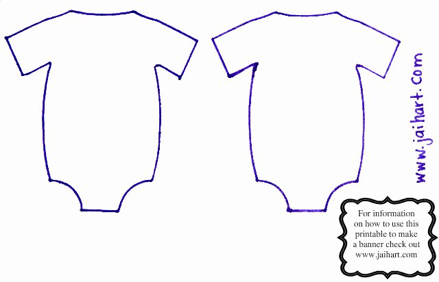 Free Printable Baby Onesie Template Beautiful Jaihart Guest Designer at Decorate to Celebrate
